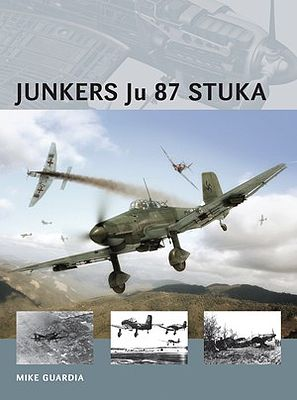 Osprey Publishing Air Vanguard - Junkers Ju87 Stuka -- Military History Book -- #av15