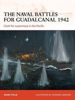 Osprey-Publishing Campaign - The Naval Battles for Guadalcanal 1942 Military History Book #c255