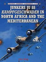 Osprey-Publishing Junkers Ju88 Kampfgeschwader in North Africa & the Mediterranean Military History Book #ca75
