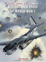 Osprey-Publishing Combat Aircraft - A26 Invader Units of WWII Military History Book #ca82