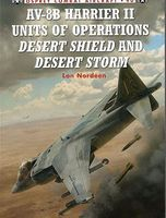 Osprey-Publishing AV8B Harrier II Units of Operations Desert Shield & Desert Storm Military History Book #ca90