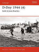 Osprey-Publishing D-Day 1944 (4) Gold & Juno Beaches Military History Book #cam112