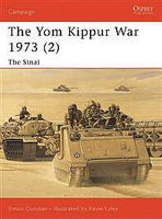 Osprey-Publishing The Yom Kipper War 1973 The Sinai Military History Book #cam126