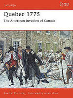 Osprey-Publishing Quebec 1775 Military History Book #cam128