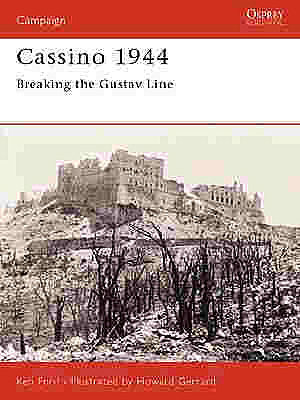 Osprey Publishing Cassino 1944 -- Military History Book -- #cam134