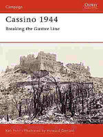 Osprey-Publishing Cassino 1944 Military History Book #cam134