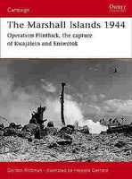 Osprey-Publishing The Marshall Islands 1944 Military History Book #cam146