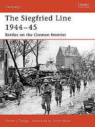 Osprey Publishing Siegfried Line 1944-45 -- Military History Book -- #cam181
