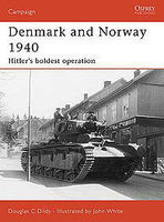 Osprey-Publishing Denmark & Norway 1940 Military History Book #cam183