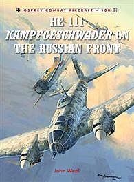 Osprey Publishing He111 Kampfgeschwader Russian -- Military History Book -- #com100