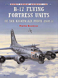 Osprey Publishing B-17 Flying Fortress Units -- Military History Book -- #com36