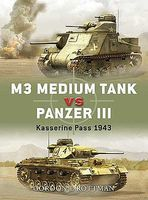 Osprey-Publishing M3 Medium Tank vs Panzer III Kasserine Pass 1943 Military History Book #d10