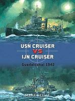 Osprey-Publishing USN Cruiser va IJN Cruiser Guadacanal 1942 Military History Book #d22