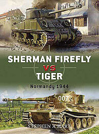 Osprey Publishing Sherman Firefly Vs Tiger -- Military History Book -- #due2