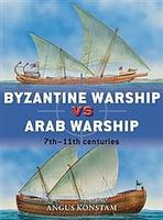 Osprey-Publishing Byzantine Warship Vs Arab Warship Authentic Scale Model Boat Book #due64