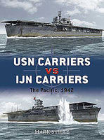 Osprey-Publishing USN Carriers Vs IJN Carriers Military History Book #due6