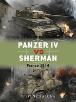 Osprey-Publishing Panzer IV vs Sherman France 1944 Military History Book #due70