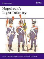 Osprey-Publishing Napoleons Light Infantry Military History Book #maa146