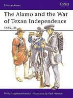 Osprey-Publishing Alamo Texan War Independence Military History Book #maa173
