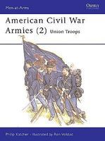 Osprey-Publishing American Civil War Armies (2) Military History Book #maa177
