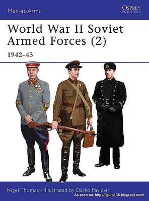Osprey Publishing WWII Soviet Armed Forces 1942 -- Military History Book -- #maa468