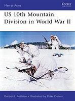 Osprey-Publishing US 10th Mountain Division in WWII Military History Book #maa482