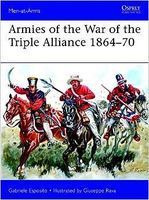 Osprey-Publishing Armies of the War of the Triple Alliance Military History Book #maa499