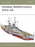 Osprey-Publishing German Battlecruisers 1914-18 Military History Book #nvg124