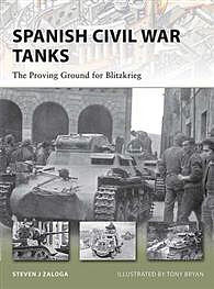 Osprey Publishing Spanish Civil War Tanks -- Military History Book -- #nvg170