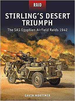 Osprey Publishing Stirling's Desert Triumph -- Military History Book -- #rid49