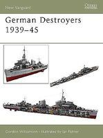 Osprey-Publishing German Destroyers 1939-1945 Military History Book #v91