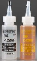 Pacer Z-Poxy Finishing Resin 4oz Hobby and Craft Fiberglass Resin #pt41