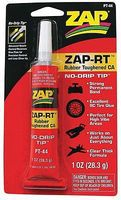 Pacer ZAP-RT Rubber Toughened CA Clear Thick 1oz Hobby CA Super Glue #pt44