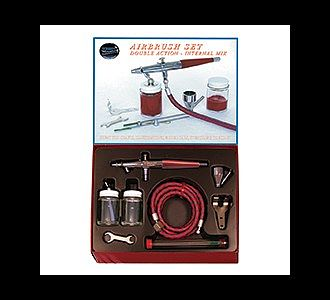Paasche Airbrush Comp. VL- Set w/Swivel Nut Connection (VLS-SET) -- Airbrush and Airbrush Set -- #53