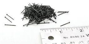 Peco (bulk of 12) Track Nails Model Train Track Accessory All Gauges #140