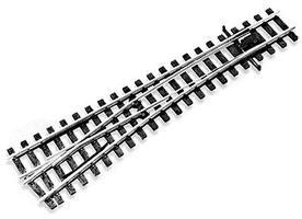 Peco (12mm Meter Gauge) Medium Radius Turnout Left Hand Model Train Track HOm Scale #1496