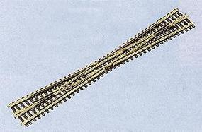 Peco Code 80 Crossing Long 8 Degrees 7-3/8 187mm Long Model Train Track N Scale #1740