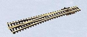 Peco Code 55 Medium Radius #6 Turnout Left Hand Electrofrog Model Train Track N Scale #1796