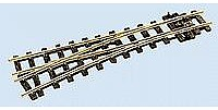 Peco Code 100 Medium Radius Turnout Left Hand Electrofrog -- Model Train Track -- On30 Scale -- #5961