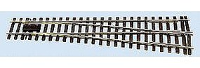 Peco Code 143 US Profile Flat Bottom Rail Right Hand Turnout Model Train Track O Scale #791