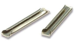 Peco Code 80 Nickel Silver Rail Joiners (12pk/cd) Model Train Track Accessory N Scale #sl310