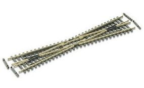 Peco Code 55 Long Crossing (10 Angle) Model Train Track N Scale #sl394f