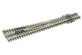 Peco Code 80 Large Right Hand Turnout w/Electified Frog Model Train Track N Scale #sle388