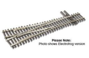 Peco Code 83 #4 Wye Turnout Electrofrog Model Train Track HO Scale #sle8348
