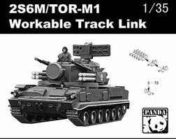Panda 2S6M/TOR-M1 Workable Track Links Plastic Model Vehicle Accessory 1/35 Scale #1