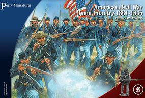Perry 28mm American Civil War Union Infantry 1861-65 (40)