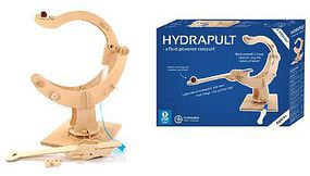 Pathfinders Hydrapult Fluid-Powered Catapult Wooden Kit