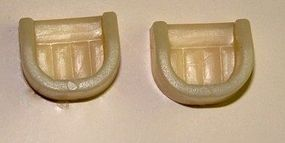 Pegasus Custom Car Seats (2) (Resin) Plastic Model Vehicle Accessory 1/24 Scale #1007