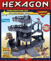 Pegasus Hexagon Large Construction Set (12-Frames, 100+ Details)