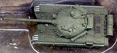 Pegasus Hobbies T72M1 Soviet Tank (Assembled) -- Pre-Built Plastic Model -- 1/144 Scale -- #610